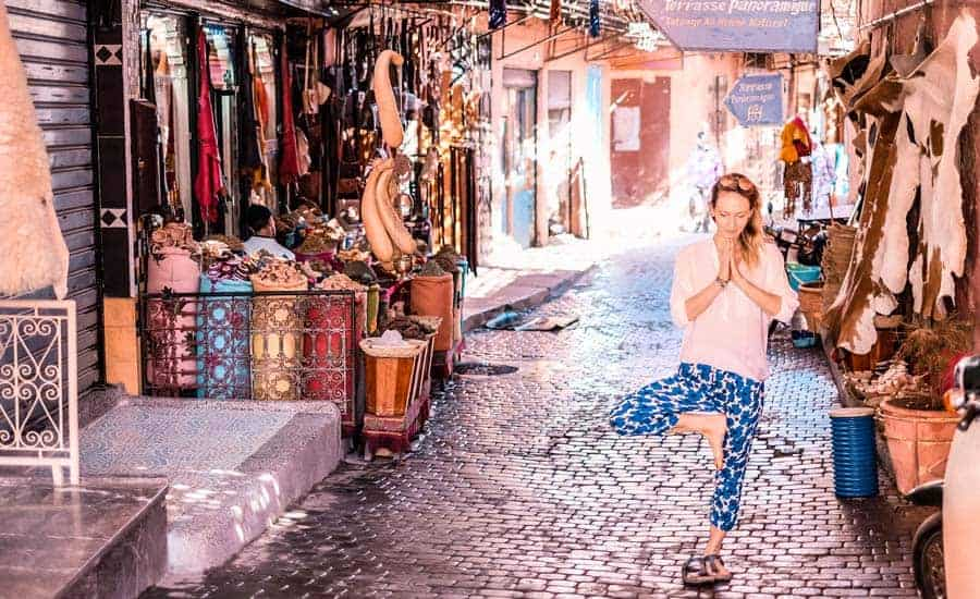 Julia Hofgartner, Yoga in Marrakech, Yoga & Juliet