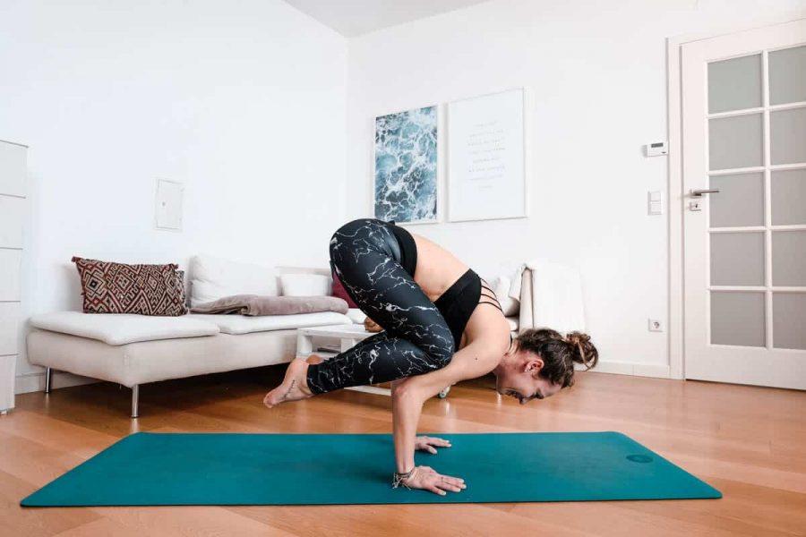 Yoga Krähe, Crow Pose, Bakasana
