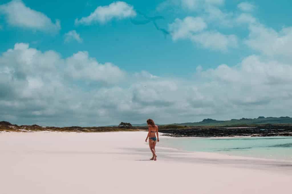 Yoga & Juliet, Galapagos, San Cristobal, Beach, 360 Tour
